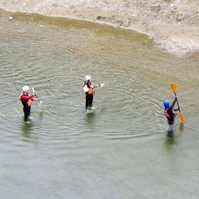 奈良吉野川でのパックラフティング思っているより激しいよ