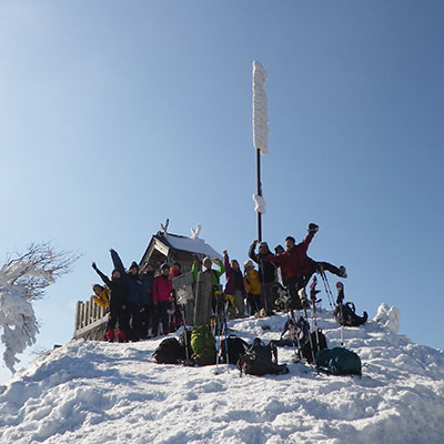 山頂での記念写真はいいね!が沢山集まりそう