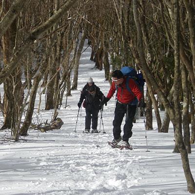 雪を踏みしめる感覚をたっぷりと堪能して下さいね